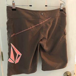 Volcom women's board shorts size small